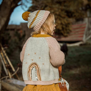 Rainbow Kid Cardigan