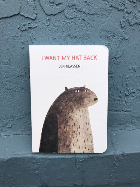 I Want My Hat Back - Board Book