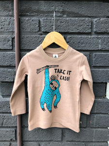 Take It Easy L/S Tee