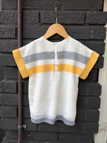 Yellow Woven Dina Top