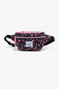 Twelve Hip Pack Ditsy Floral Black/Pink