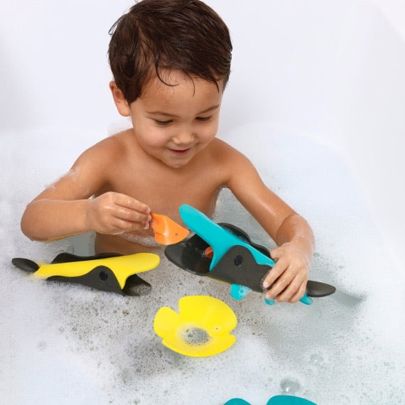 Crocodile River Bath Toy Set