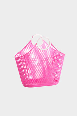 Small Retro Fiesta Shopper Basket