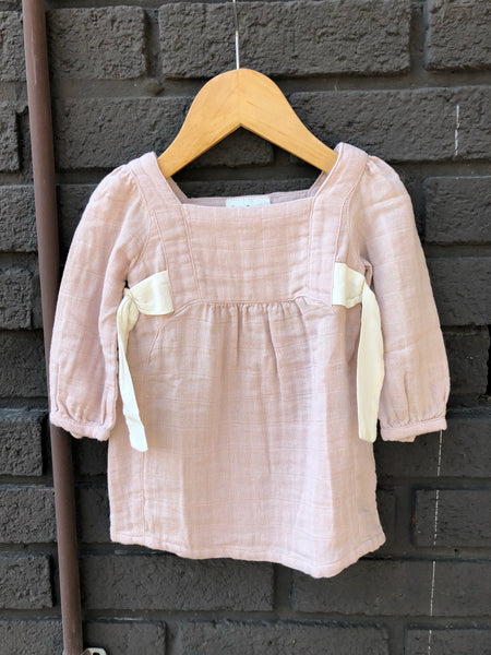 Rose Side Tie Dress (Baby)