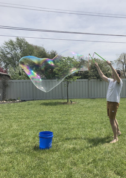 Giant Bubble Kit - Wand and Concentrate