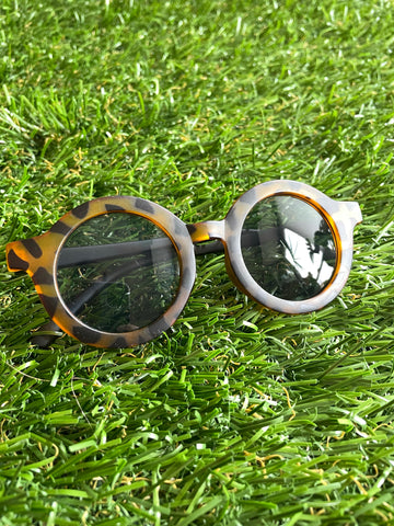 Round Tortoise Sunglasses ( 4-8 years)