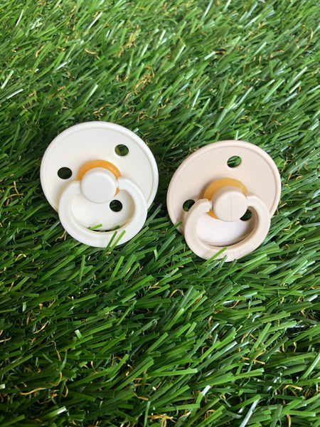 Natural Rubber Pacifier 2 Pack (6-18 months)