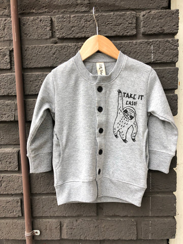 Take It Easy Kid Cardigan