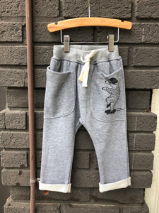 Bear Terry Kid Pant