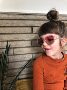 Gradient Lens Heart Sunglasses (3-6 years)