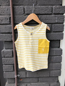 Stripe & Block Tank