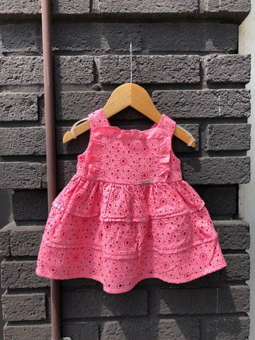 Chicle Eyelet Dress