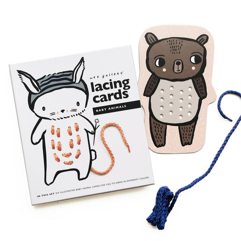 Lacing Cards - Baby Animal