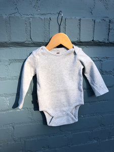 Heather Grey L/S Onesie