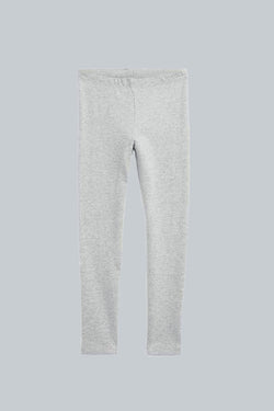 Heather Grey Kid Leggings