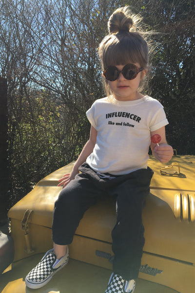 kids influencer tee