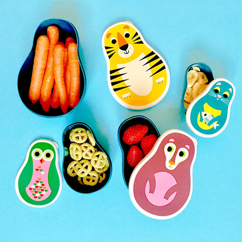 Nesting Animal Snack Box Set