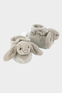 Bashful Beige Bunny Booties (0-3 months)