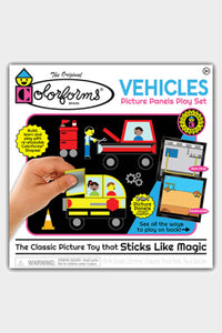 kahoots colorforms vehicles set