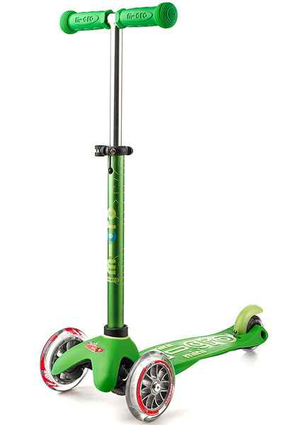 Green Micro Mini Deluxe Scooter