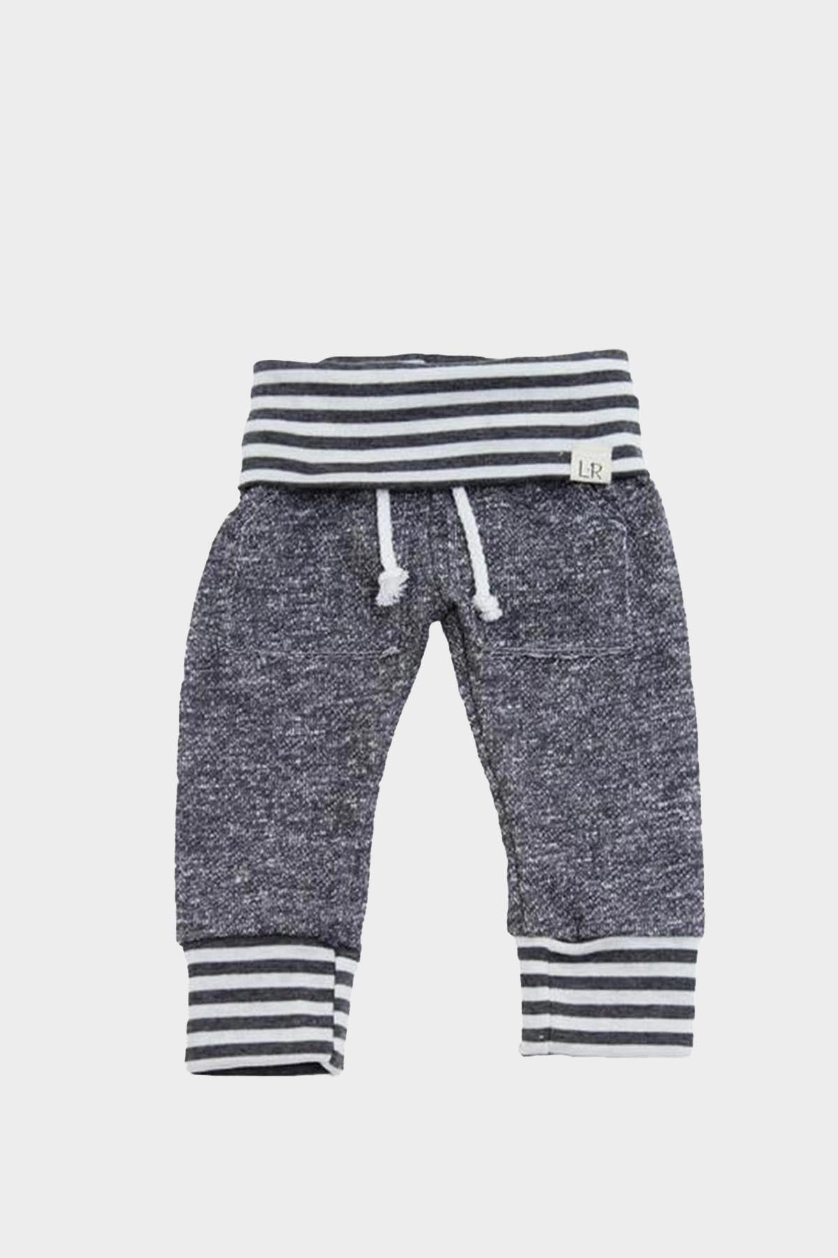 Kid Grey Stripe Joggers