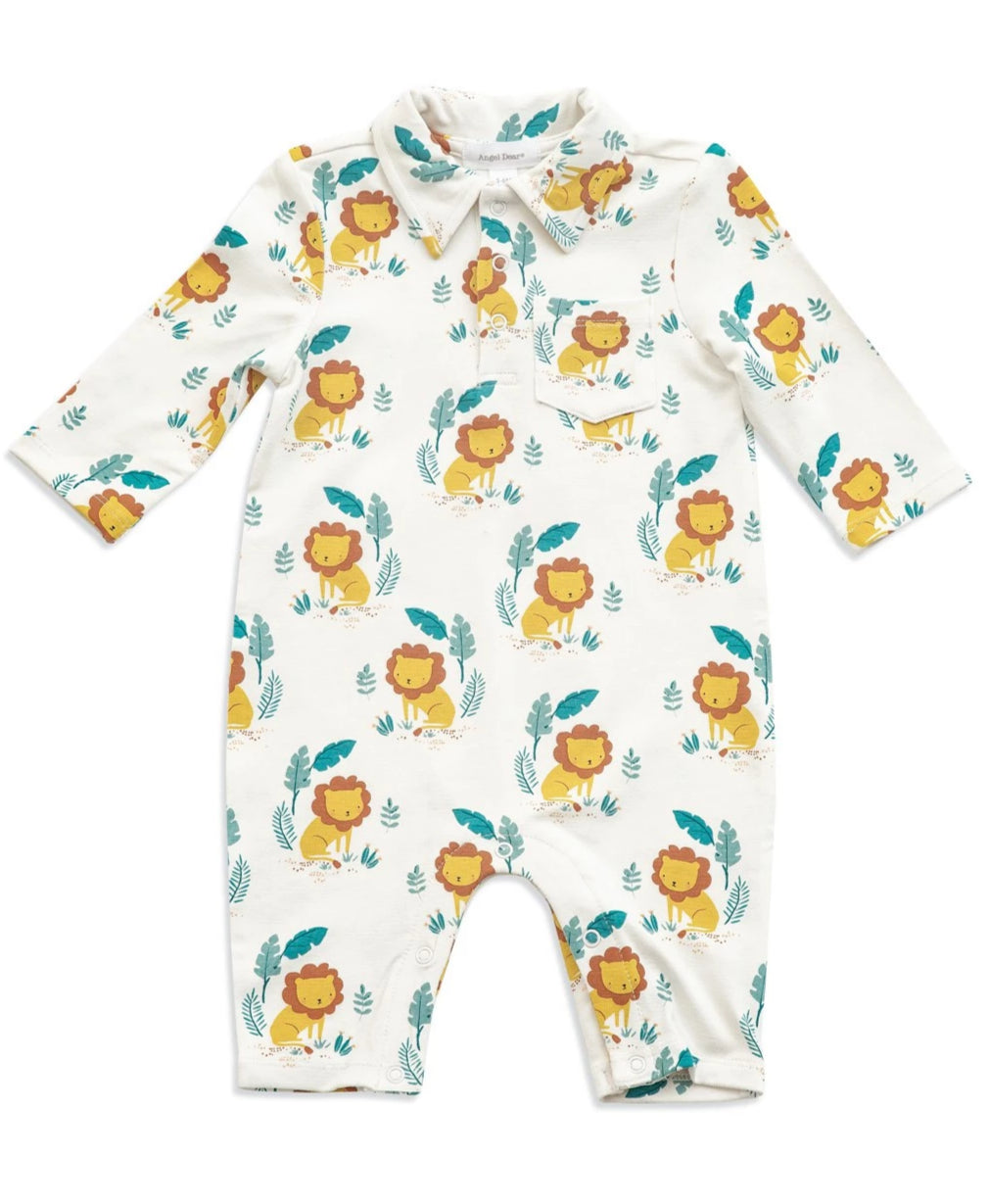 Lion King Polo Romper