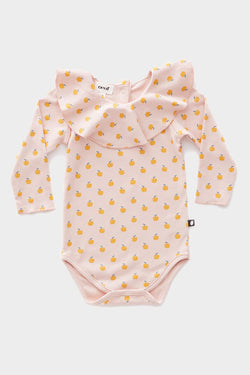 oeuf light pink onesie
