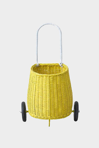 luggy basket yellow olli ella