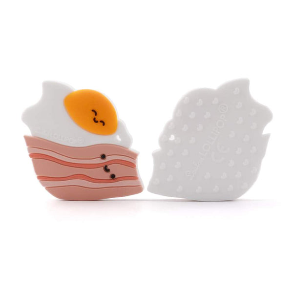 Bacon and Egg Single Teether