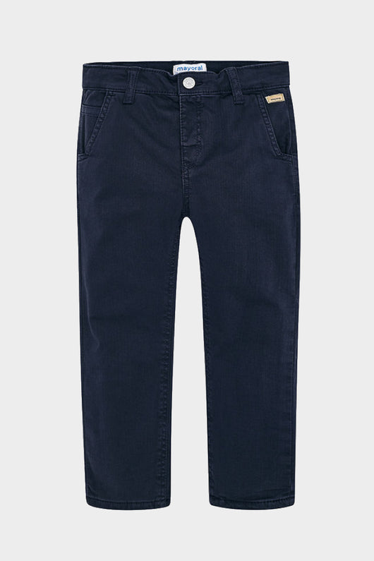 mayoral navy lined trousers boy pants