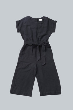 Black Tencel Jumpsuit