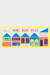 moulin roty mini bloc ville wooden blocks