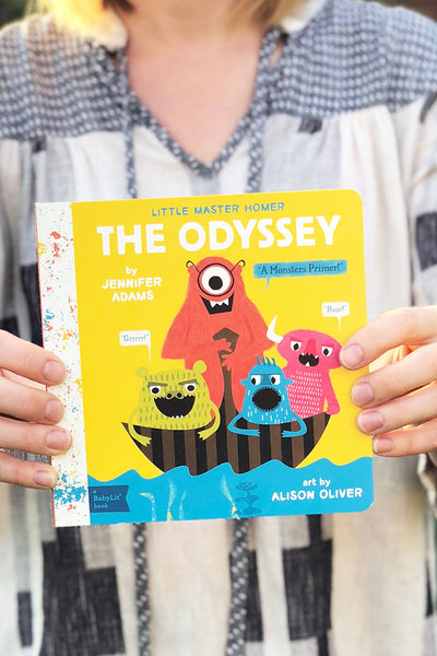 the odyssey board book