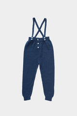 Dark Navy Suspender Pants