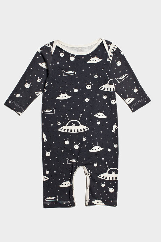 winter water factory outer space romper
