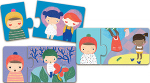 Emotions Toddle Puzzle Set