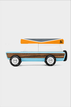 wooden candylab station wagon