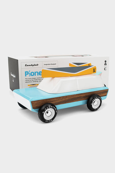 pioneer wooden station wagon