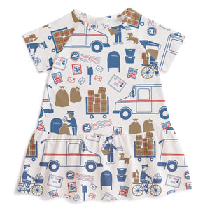 Postal Service Milwaukee Dress