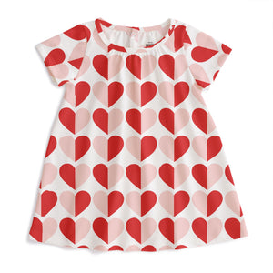 Red & Pink Hearts Merano Dress