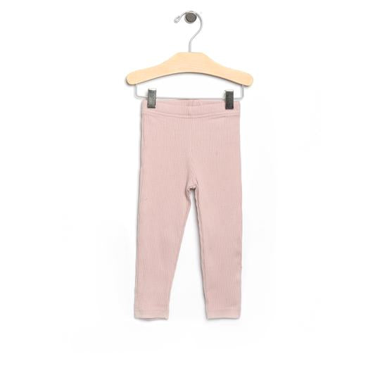 Blush Rib Leggings (Kid)