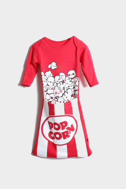 Pop Corn Pocket Gown