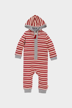 Baby Peppermint Stripe Jumpsuit