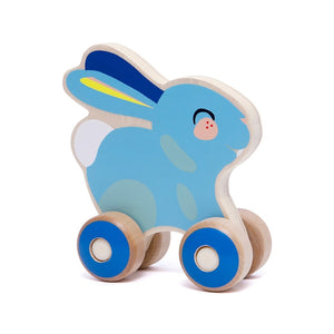 Wooden Push Toy Bunny