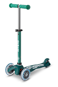 Mini Deluxe Eco Green Scooter