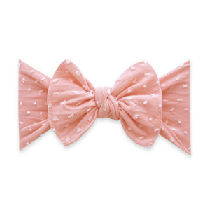 Patterned Shabby Bow Stretch Headband
