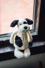 Bashful Black/Cream Puppy Small