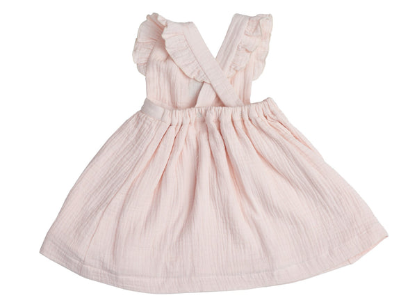 Rainbows Pinafore Top & Bloomer Set