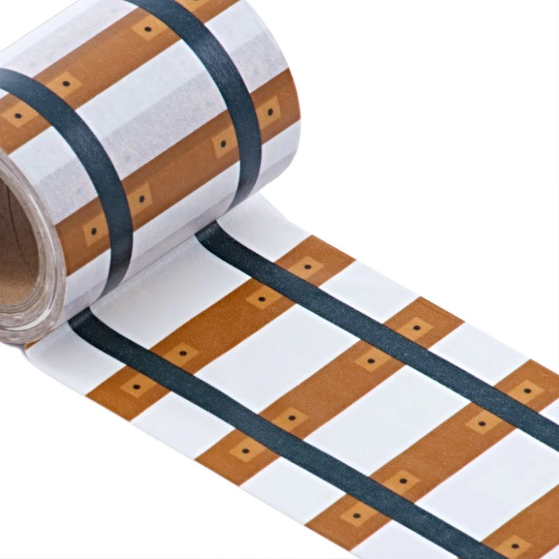 Railroad Track Washi Tape