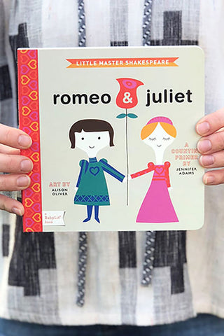 Romeo and Juliet Babylit board book